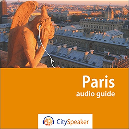 Couverture de Paris (Audio Guide CitySpeaker)