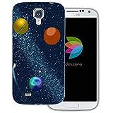 dessana Universum - Cover trasparente per Samsung Galaxy S4, motivo: galassia cosmica