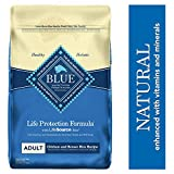 Blue Buffalo Life Protection Formula Adult Dog Food – Natural Dry...