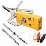 Doradus Sackloch Jig Holzleitfaden Repair Kit Carpenter Holzbearbeitung Werkzeug -