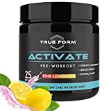 Activate Pre-Workout for Men and Women – Amino Acids Powder with Beta Alanine, Caffeine and...
