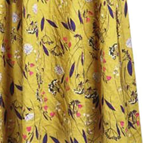 Fossen Vestidos Verano Mujer Largos Casual 2020 Estampado Etnico Sin Mangas Talla Grande - Chic Vestido de Fiesta Elegantes de Playa Vacation - Vintage Clásico Dress para Coctel Noche