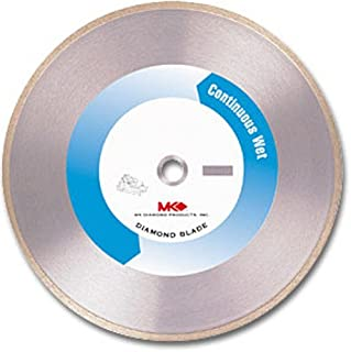 MK Diamond 155950 MK-215GL 10-Inch Wet Cutting Continuous Rim Supreme Metal Bond Blade for Glass