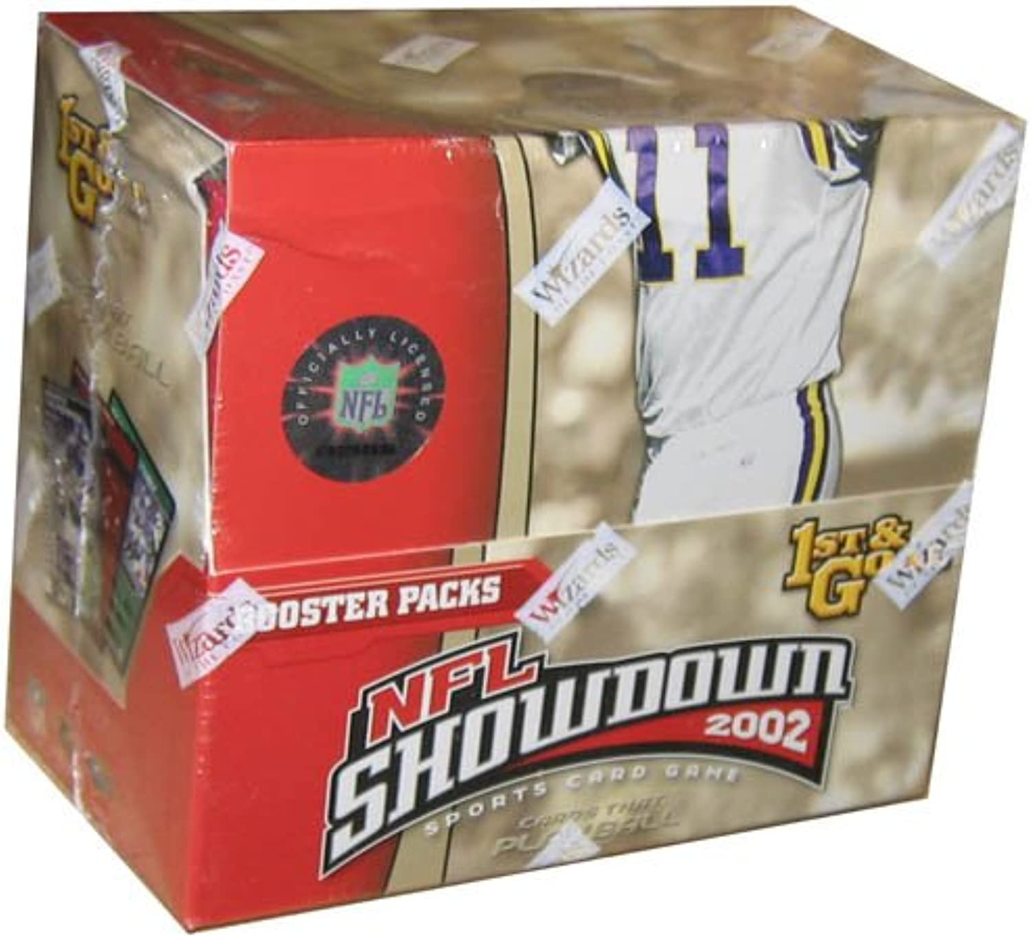 NFL Showdown  2002 First & Goal Booster Box