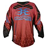 Empire 2016 Prevail F6 Paintball Jersey - Red - 3X- Large