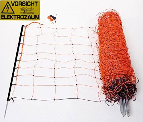 Schafnetz | Schafzaun | Gartennetz | Zaun mit Strom
