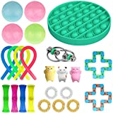 iSayhong Sensory Fidget Toys Set para niños, adolescentes y adultos, alivio del estrés y antiansiedad, juego de herramientas para TDAH, autismo y ansiedad, divertido juego para aulas y oficina