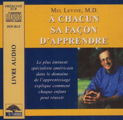 A chacun sa façon d'apprendre (1 livre + coffret de 2 CD)