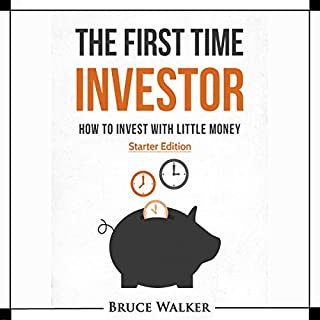 The First Time Investor audiobook cover art