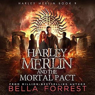 Harley Merlin 9: Harley Merlin and the Mortal Pact Titelbild