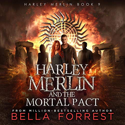 Harley Merlin 9: Harley Merlin and the Mortal Pact cover art