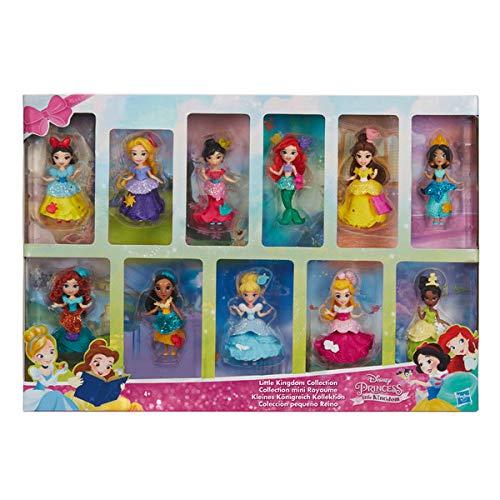 Disney 11 muñecas Princesas Colección Pequeño Reino Princess ...