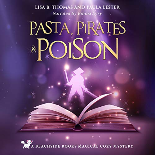 Pasta, Pirates and Poison audiobook cover art