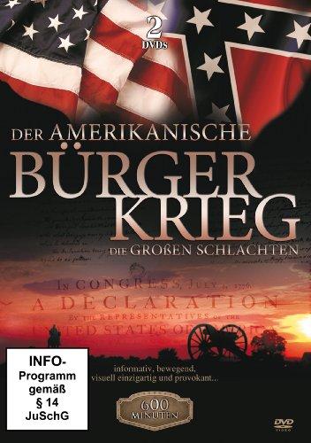 Der amerikanische Bürgerkrieg - Die großen Schlachten (2 DVDs)