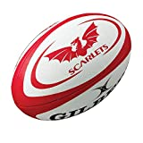 Ballon Rugby Scarlets Gilbert Taille 2 Midi