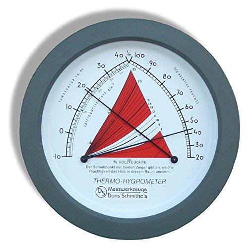 Lauber Temperatur/Feuchte-Anzeigerät rund | Hygrometer