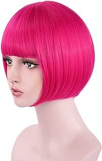 Best dark pink wig Reviews
