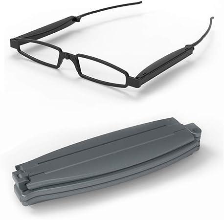 Mini Folding Read Presbyopia Hyperopia Glasses for Men and Women Fashionable Foldable Pocket Glasses