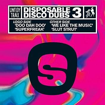 Disposable Disco Dubs 3