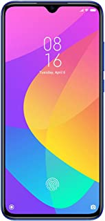 Xiaomi Mi 9 Lite  Smartphone, Dual SIM 128GB, 6GB RAM, 4G LTE, International Version - Aurora Blue