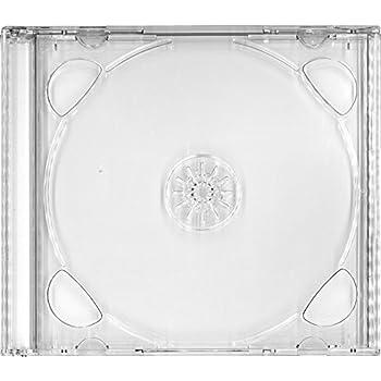 コムコム COMCOM 【日本製】ジュエルケース 2枚収納 【10個セット】【ケース色:透明】