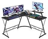 Mr IRONSTONE L-Shaped Desk 50.8' Computer Corner Desk, Home Gaming Desk, Office Writing Workstation...
