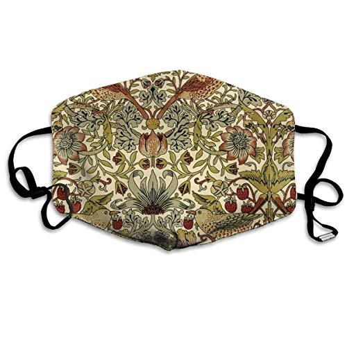 William Morris aardbei dief trianon crème linnen luxe unisex volledige dekking buis gezicht masker Bandanas UV bescherming nek Gaiter hoofdband
