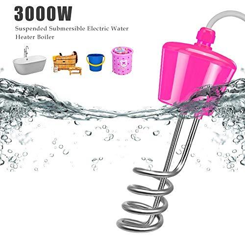 3000W Pool Warmwasserbereiter - Elektrische Tauchsieder Pool Wasserheizstab, Elektrischer Warmwasserbereiter Poolheizung Für Pool / Aufblasbare Badewanne, 2 3 M Leitung Mit Elektronischem Thermometer