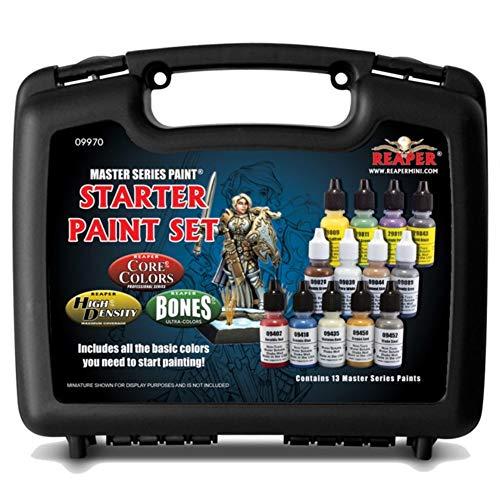 Reaper Miniatures Master Series Paints Starter Set for Mini Figures