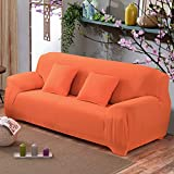 SSDLRSF Sofabezug Plüsch Fabirc Sofabezug 1/2/3/4 Seaterer Dicker Schonbezug Couch Sofacovers Stretch Elastic Günstige Sofabezüge Handtuchwickelbezug