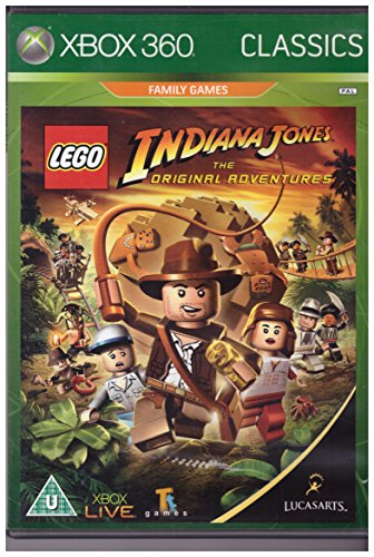 Lego: Indiana Jones the Original Adventures - Classics Edition (Xbox 360) [Importación inglesa]