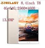 Teclast Master T8 8.4 pulgadas Tablet PC Android 7.0 MTK8176 Hexa Core 1.7 GHz 4 GB RAM 64 ROM huella digital dual WIFI 13.0MP juego PC