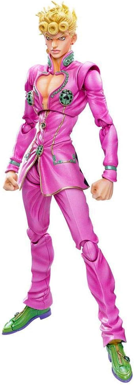 MediCos Aug188463 JoJo's Bizarre Adventure  Giorno Giovanna Big Super Action Statue Figure, Multicolor