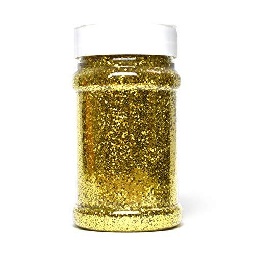 Glitterexpress Brillantina, dorado, 250 g