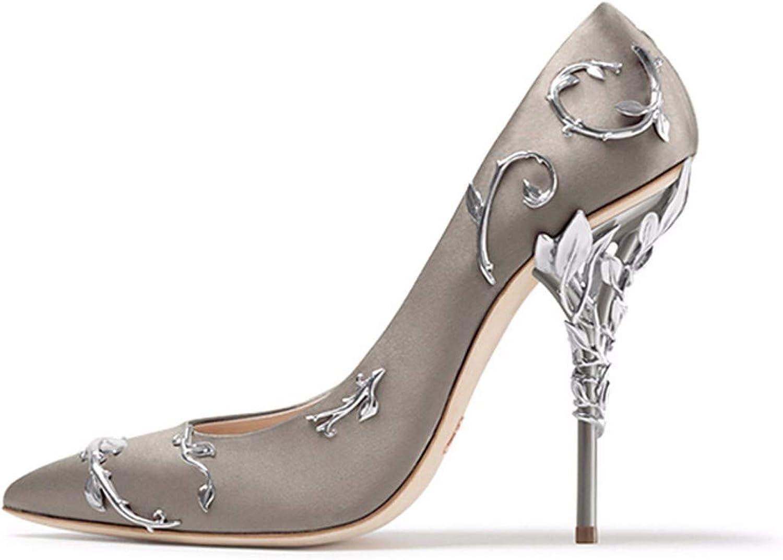 KOKQSX-Einzelne schuhewies kopfhochhackigen Schuhen Schuhen Schuhen 8 cmschlankschwarze schuheflachehochzeit.  1bd504
