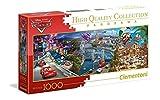 Clementoni-Disney Cars Puzzle, 1000 Pezzi, Multicolore, 39446...