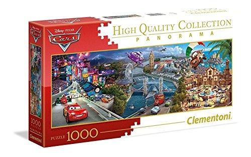 Clementoni-Disney Cars Puzzle, 1000 Pezzi, Multicolore, 39446