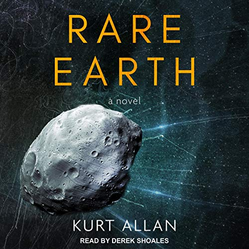Rare Earth audiobook cover art
