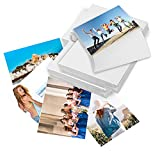 T6 500 Sheets 4x 6inch 4R High Glossy Photo Paper Waterproof Professional photographic Paper Works with Inkjet Printers 230gsm