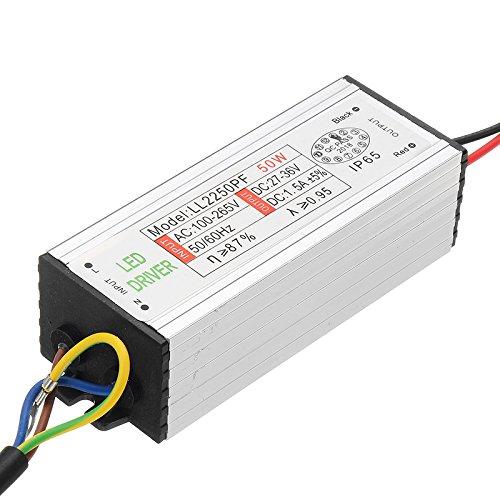 Tutoy 50W Alimentation Étanche Ac85-265V À 27-36V LED Adaptateur De Conducteur d'alimentation