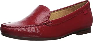 MARC JOSEPH NEW YORK Womens Leather Made in Brazil Warren Street Loafer, Red Patent, 6 M US
