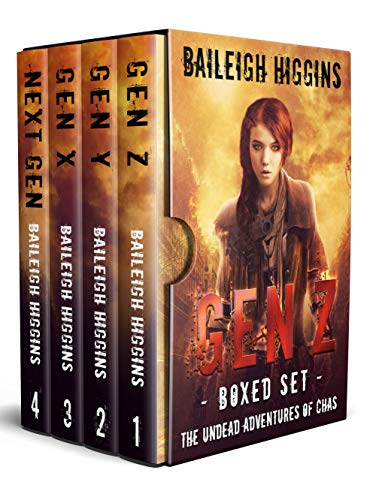 Gen Z: Boxed Set (The Undead Adventures of Chas Books 1 - 4)