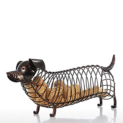 Decorative Dachshund Wine Cork Holder