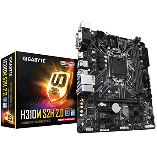 Gigabyte H310M S2H 2.0 - Scheda madre G-LAN Sound m.2 SATA3 USB3