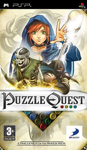 Puzzle Quest: Challenge Of The Warlords Importación italian