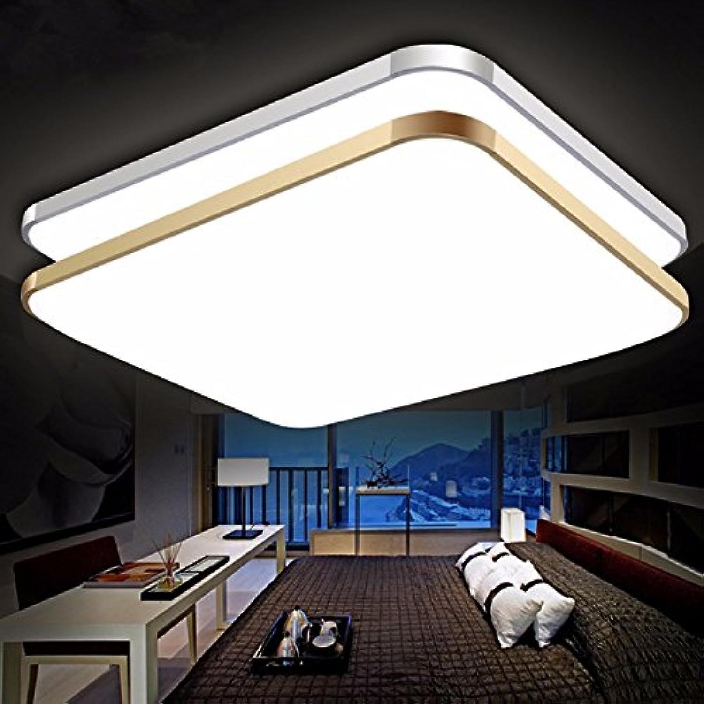 Lampe de plafond Led, lampe de salon, bureau rectangulaire simple et moderne, salle à hommeger, grande chambre à coucher, chambre d'éclairage,lampe 65  43 Mettez en surbrillance