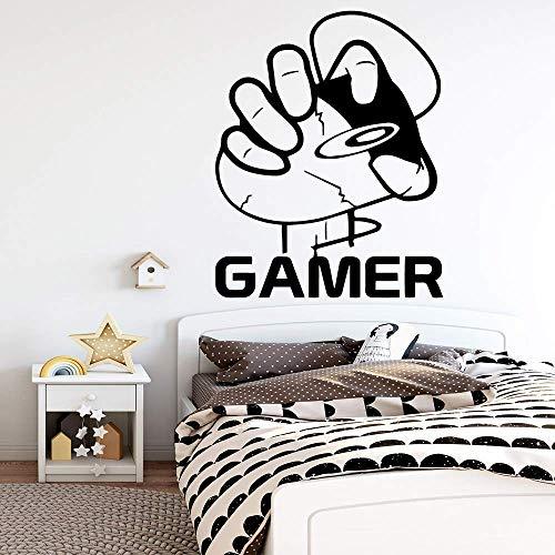 Spaß Dobermann Hund Aufkleber Abnehmbare Vinyl Wandbild Poster Kinderzimmer Natur Dekor Wandkunst Wandbild Drop Shi28X35Cm