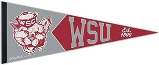 Washington State University WSU Cougars Premium Pennant, Vintage Edition, 12 x 30 inches