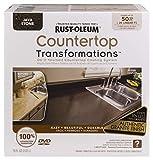 Rust-Oleum 258283 Countertop Transformations Kit, Large Kit, Java