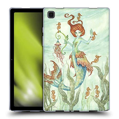 Head Case Designs Licenciado Oficialmente Amy Brown Guardián del Caballo Hadas Elementales Carcasa de Gel de Silicona Compatible con Galaxy Tab A7 10.4 (2020)
